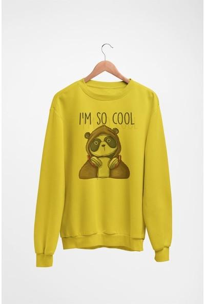 Angemiel Wear Im So Cool Kadın Sweatshirt