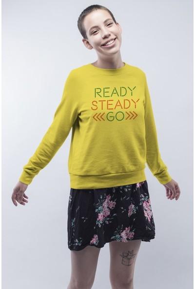 Angemiel Wear Ready Steady Kadın Sweatshirt