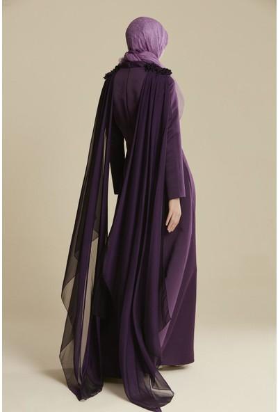 Tuğba & Venn Kadın Şifon Abiye Elbise
