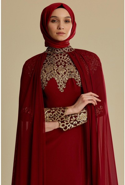Tuğba & Venn Kadın Tüllü Abiye Elbise
