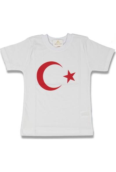 Fahroni Ay Yıldız Kız Tişört