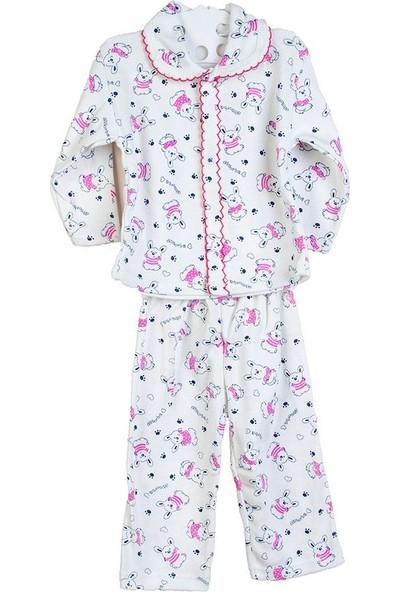 Hepsiihtiyaç Kroşartlı Bebek Pijama Takımı Pembe