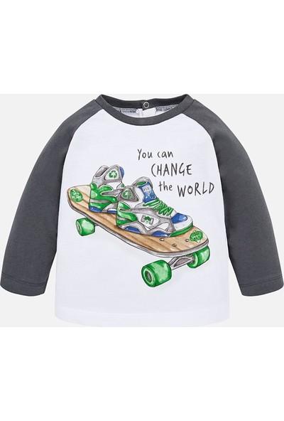 Mayoral Erkek Bebek Uzun Kol Tshirt