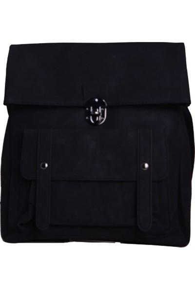 Avi BagsFüme Renk Kadın Sırt Çantası (Lrs438)