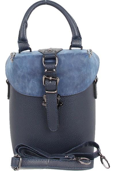 MadameMadame Marka Mavi Renk Kadın El Çantası