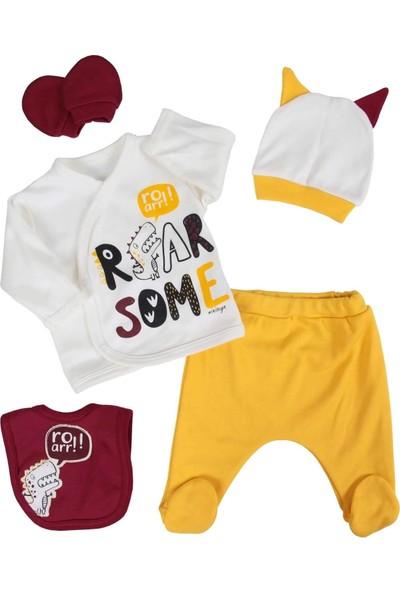 Mini Zeyn Roar Dinazorlu Erkek Bebek 5 Li Hastane Çıkışı