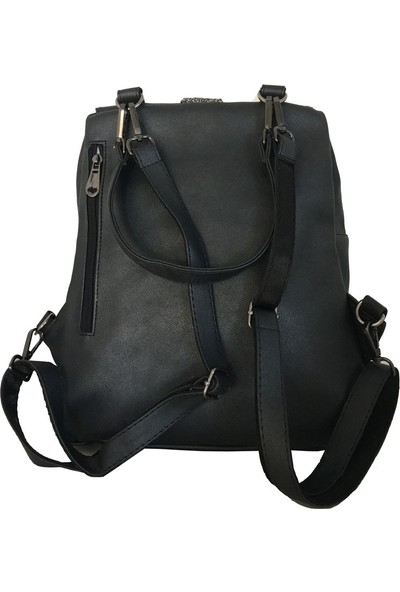 Avi BagsFüme Renk Kadın Sırt Çantası (Lrs441)