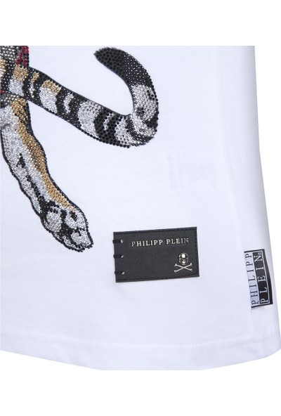 Philipp Plein Seventy Eight Erkek T-Shirt