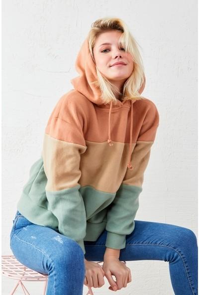 Freestar Kapüşonlu Polar Sweatshirt