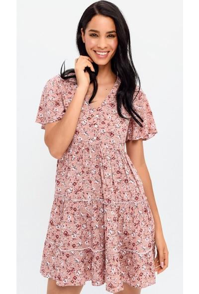 New Laviva Pudra Kadın Elbise