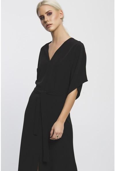 C-Ya Uzes Elbise - Çanta Set