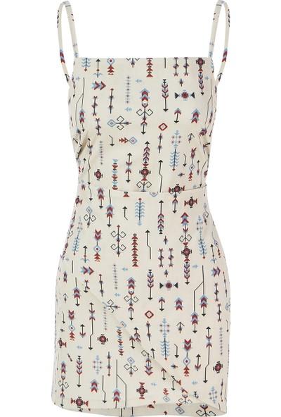 C-Ya Indegenious Elbise - Çanta Set