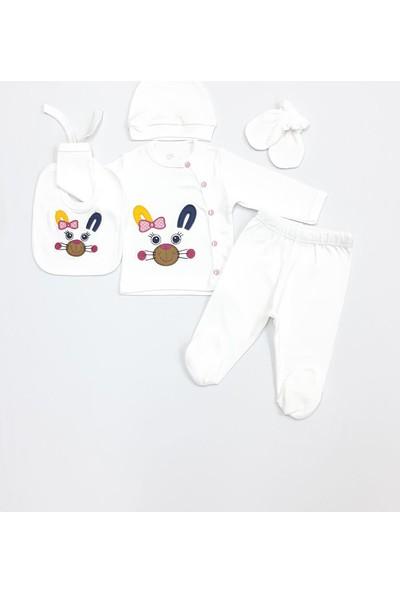 Toontoy Kız Bebek Hastane Çıkışı 5li Set