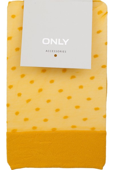 Only Onlvisla Nylon Dot Sock Acc Kadın Çorap 15152902