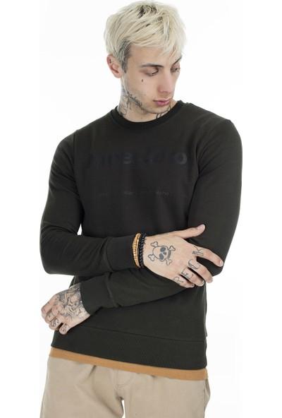 Jack & Jones Baskılı Erkek Sweatshirt 12161759