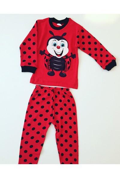 Süpermini Baby Uğur Böcekli Pijama Takımı 3 Yaş