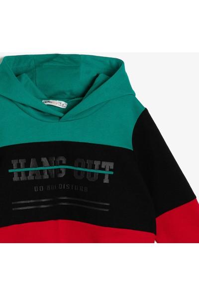 Koton Erkek Çocuk Yazılı Baskılı Sweatshirt