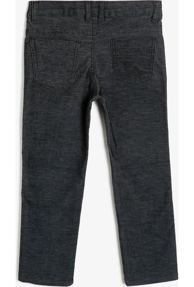 Koton Erkek Çocuk Kadife Pantolon