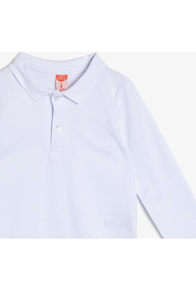 Koton Erkek Bebek Polo Yaka Sweatshirt
