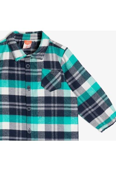 Koton Erkek Bebek Kareli Gömlek