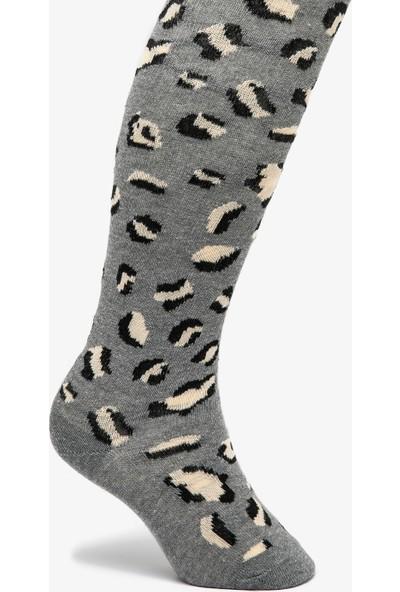Koton Kız Çocuk Desenli Külotlu Çorap