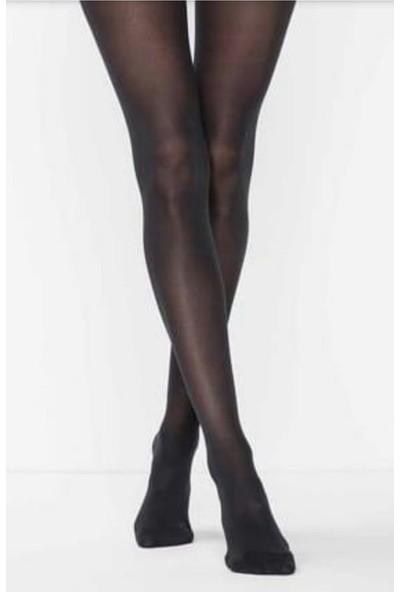 Müjde Lux 40 Denye Opak Siyah 6'lı Külotlu Çorap