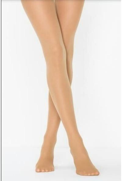 Müjde Lux 40 Denye Opak Ten Rengi 6'lı Külotlu Çorap