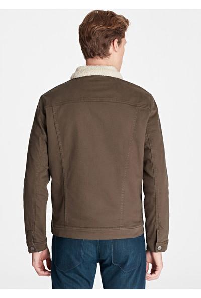 Mavi Erkek Frank Kürklü Siyah Jean Ceket