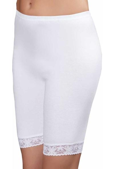 Şahinler Kız Çocuk Tayt Beyaz MKC005