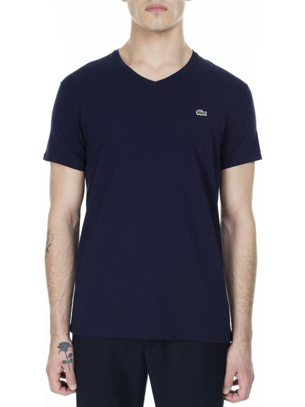 Lacoste V Yaka Erkek T Shirt TH0999 166
