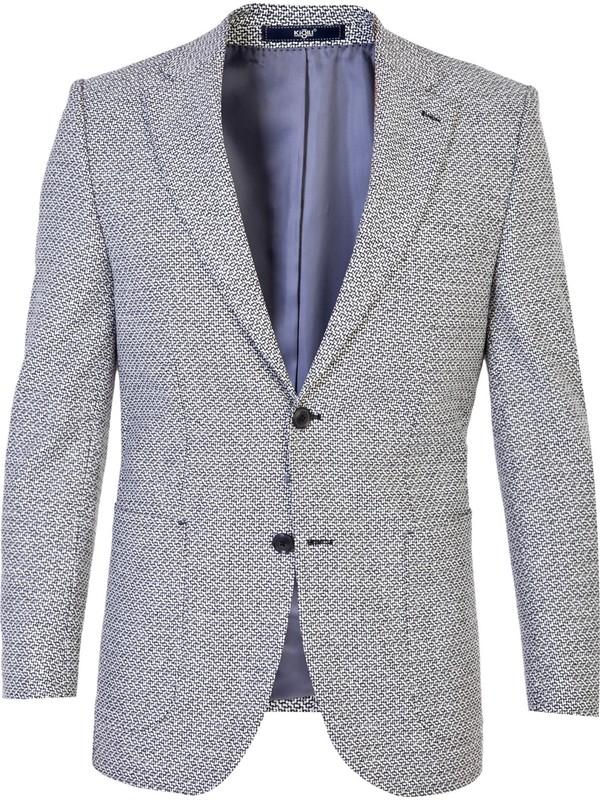 Kiğılı Yünlü Desenli Ceket