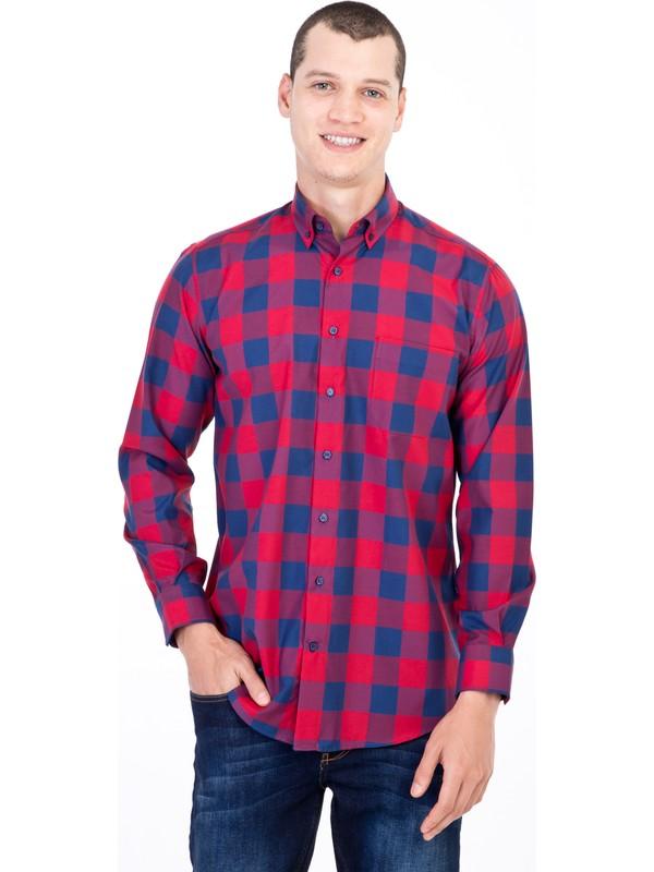 Kiğılı Uzun Kol Kareli Gömlek
