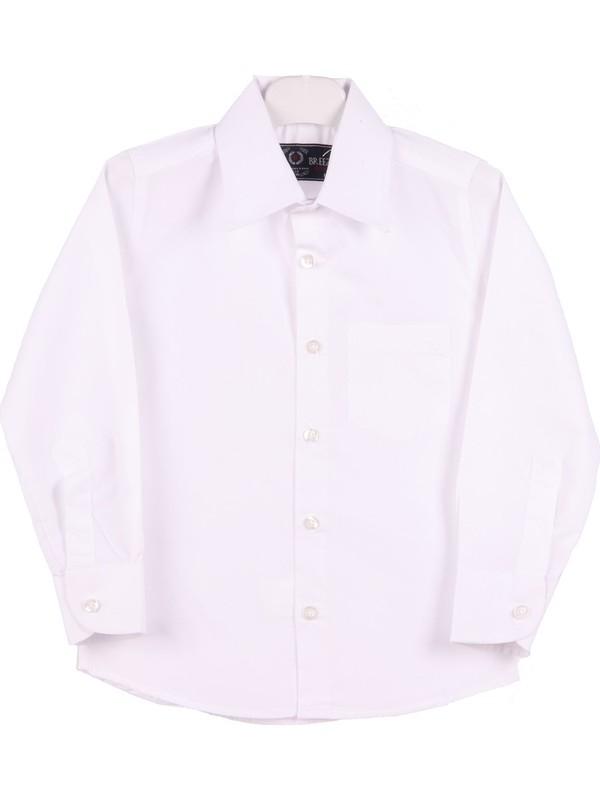 Eh Erkek Çocuk Beyaz Gömlek 4-10 Yaş