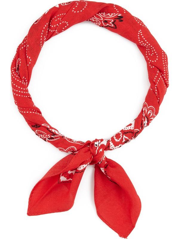 Mavi Kadın Kırmızı Bandana 194407-25704