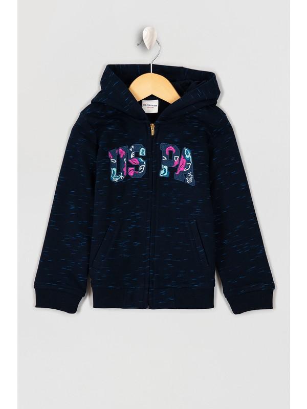 U.S. Polo Assn. Kız Çocuk Sweatshirt 50210557-Vr033