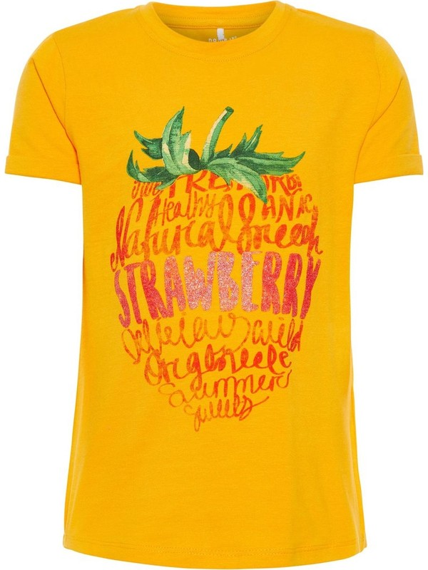 Name İt Kız Çocuk Organik Pamuk Tshirt