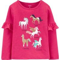 CARTERS Küçük Kız Çocuk Tshirt PW 28423510