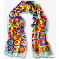 Galiga İpek Fular - Color Study