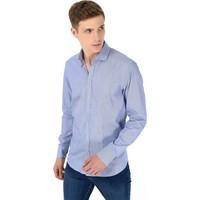 Morven Prf Regular Fit Uzun Kol Gömlek Mavi