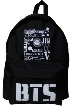 Çantacım Bts K-Pop Sırt Çantası