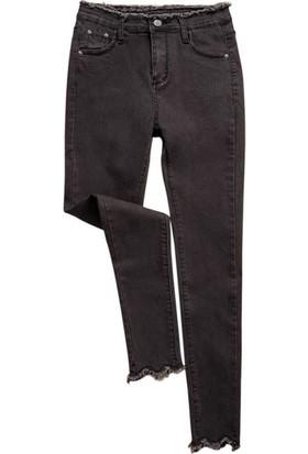 Gob2c Yüksek Bel Streç Kot Pantolon
