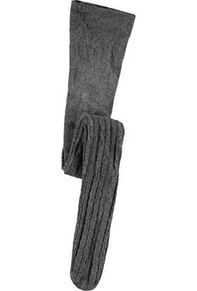 Bella Calze Külotlu Çorap 2-14 Yaş Gri