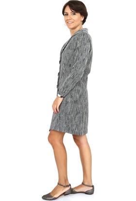 Tasarım Atölyesi Kadın Gri Elbise