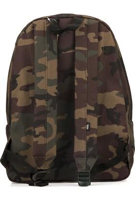 Vans Unisex Sırt Çantası 93443 Old Skool 2 Camouflage
