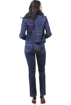 Dodona 3161 Cebi Taşlı Şık Kışlık Pantolon