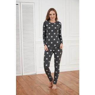 Morpile Baskılı Pijama Takımı