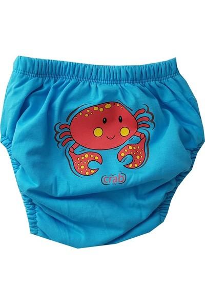 Poope'S 3'lü %100 Pamuklu Yıkanabilir Erkek Bebek Çocuk Alıştırma Kilodu