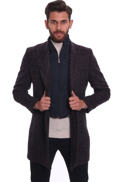 Diandor Erkek Palto Bordo