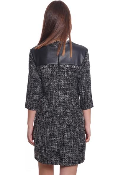Ayhan Kadın Elbise 61127 Siyah