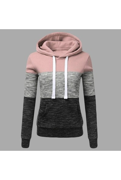 Gob2C 3 Renkli Kapüşonlu Sweatshirt Xxs-3Xl